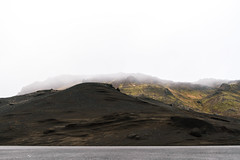 (annadosenes) Tags: landscape photography iceland travel europe winter february adventure explore roadtrip reykjanes peninsula south mountains volcanic green black contrast fog myst minimal colors canon eos 7d journey nature wild earth
