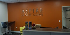 Aspire at West Campus lobby (Lost in Flickrama) Tags: iowacity iowa universityofiowa apartment showroom graduatestudent accomodation