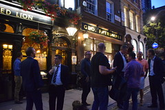 DSC_7970 St James's London West End Duke of York Street The Red Lion English Pub Rugby Guys (photographer695) Tags: michelle aka fifi from south africa st jamess london west end duke york street the red lion english pub rugby guys