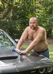 ChallengerShoot-1643_5x7 (Mike WMB) Tags: bear fur beard musclecar hairy strobist