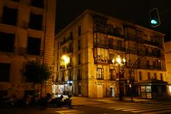 Santander (villejvirta) Tags: santander cantabria spain espana lowlight nightscene nightonearth panasonic tz100 tz101 architecture building
