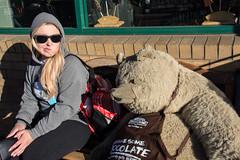 The 2017 San Francisco Rocky Mountain Chocolate Factory Bear photo (m01229) Tags: rockymountainchocolatefactory bear gimme some chocolate gimmesomechocolate theresa sanfrancisco fishermanswharf nikon18300mm