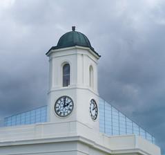 Droit House clock tower (Tim Ravenscroft) Tags: clock tower droit margate kent england hasselblad hasselbladx1d x1d