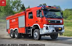 509[L]46 - GCBA 7/40 Volvo FMX 6XR/Bocar - OSP Baranów (Pawel Bednarczyk) Tags: 509l 509l46 lpu34998 bocar gcba volvo fmx 6xr ciężki gaśniczy lubelskie puławy puławski wąwolnica 04062017 firedepartment firebrigade fire truck engine baranów osp straż pożarna