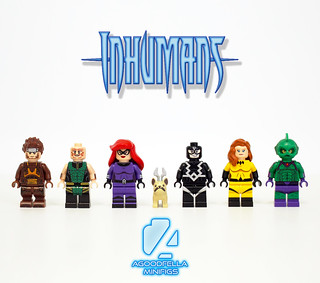 Inhumans 🌌👽🐕 v.3 [COMICS] [TEAM] [MOC]