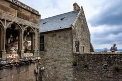 Gautier's leap, Mont St. Michel (julesnene) Tags: bay bayofmontstmichel canon canon7dmark2 canon7dmarkii canonefs1755mmf28isusm france gautiersleap giant gianteagle juliasumangil lemontsaintmichel mont montsaintmichel normandy unesco unescoworldheritagecentre unescoworldheritagesite abbey ancient commune fortification island julesnene landmark lowtide monastery rocky tidal travel