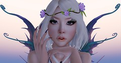 #119 A woman is like a flower, If you care for her and lover her enough, you will have the honor of watching her bloom - Davis Dolezal (Saar Whitfield) Tags: secondlife slackgirl avatar virtual exile fairy catwa maitreya bento ebento cosmetic nails 3dgirls fashion slblog lotd drd gacha