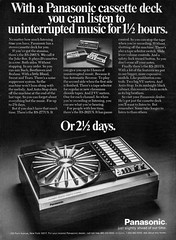 1977 Panasonic RS-296US Cassette Juke Box (Tom Simpson) Tags: 1977 panasonic rs296us cassette jukebox 1970s vintage cassetteplayer ad ads advertising advertisement vintagead vintageads electronics stereo vintageelectronics