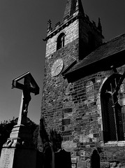 """ Belle "" Its you that i want, but its HIM that i need (hope2029) Tags: all saints church anglo saxon cross tower monochrome ledsham west yorkshire"