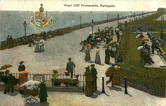 West Cliff Promenade (mgjefferies) Tags: england kent ramsgate postcard 1905 seaside