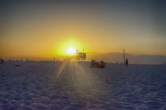 Venice Beach (Lupe Vela) Tags: venicebeach california pacificocean losangeles sunset hdr