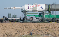 Expedition 52 Rollout (NHQ201707260016) (NASA HQ PHOTO) Tags: expedition52preflight baikonur kazakhstan expedition52 kaz baikonurcosmodrome soyuzrocket train soyuzms05 roscosmos nasa joelkowsky