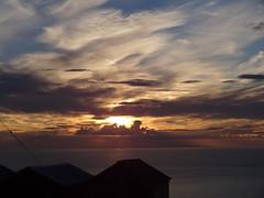 Sunset 1 (Saf37y) Tags: sunset seashore sea coast clouds costal sky scotland seaside aberdeenshire gardenstown gamriebay gamrie