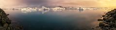 Jokursarlon (pajavi69) Tags: iceland islandia jökulsárlón glacier lagoon glaciar laguna landscape waterscape water wild nikon nature nikkor 1224 d710 frozen ice hielo paisaje panorama panoramica nieve atardecer sunset iceberg agua lago nikkor1224 amanecer dawn montaña