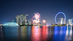 "Splendour (kiatography1) Tags: singapore sg land city urban scape scapes landscapes cityscapes urbanscapes buildings uwa ""ultra wide angle"" ""sony a7r"" architecture scenery fireworks ""flares from ships"" foreground parks greenery housings apartments horizon marina bay sands ""marina sands"" mbs ""central business district"" cbd ""fireworks"" celebrations ""ndp2017"" ""national day parade"" garden by east"
