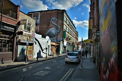 Streets of London | Brick Lane (Photography by Eric Hentze) Tags: london londoncity street streetart art graffiti outdoor travel uk untiedkingdom greatbritain grosbritannien england east eastend eastlondon nikon nikond7100 d7100 april 2017 erichentze city building house lostplaces bricklane car architecture flickrtravelaward