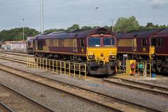 DBS 66122 Acton Yard (daveymills31294) Tags: dbs 66122 acton yard class 66 660 ews db schenker