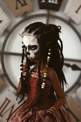 Witch (Mamzelle Follow) Tags: keshi dollstownsophb voodoo voodoowitch bjd handmadewig abjd tandoll skull