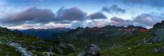 Alpenglühen (.hansn#) Tags: rot znachtal znachspitze engelkarspitze vetternspitzen brettersee giglachsee giglachseehütte giglachseen kampspitze knappenseen knappenkar vetternkar murspitzen giglachalmspitze grobfeldspitze rotmandlspitze sonnenuntergang wolken abendstimmung alpenglühen ngc schladminger tauern
