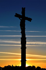 Calvaire du Crouesty (pigosse) Tags: croix calvaire morbihan golf