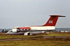 ZE702 Bae146 RAF CVT 03-07-1991 - (cvtperson) Tags: ze702 bae146 raf coventry cvt egbe