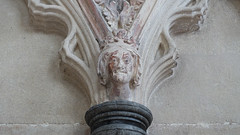 Wells Cathedral, chapter house blind arcade face