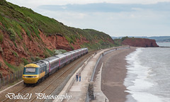 20170719-IMG_3055 (deltic21) Tags: dawlish gwml gwr greatwestern hst british brblue britishrail br first seaside seawall sea devon london newquay tide mk3