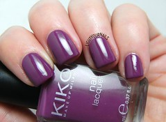 Kiko 316 Viola Rosso (Simona - www.lightyournails.com) Tags: kiko purple esmalte smalto vernis manicure unghie nails nailpolish nagellack naillacquer nailswatch