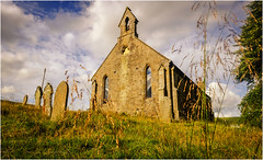 St James the Less . (wayman2011) Tags: lightroom wayman2011 colour churches religeousbuildings graveyards gravestones grasses pennines dales teesdale forestinteesdale countydurham uk fujifilmx70