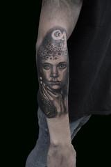 femaletentacles (Digz tattoo) Tags: dark realistic realism darkrealism darkrealistic portrait female tentacles tattoo tattoos amsterdam tattoo1825