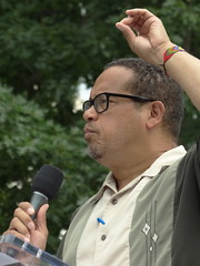 TWH30992 (crop) (huebner family photos) Tags: sony hx100v washington dc 2017 protests demonstrations peoplesfilibuster healthcare politicians keithellison