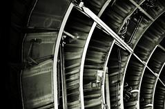 Gerippe - Skeleton (Bernd Kretzer) Tags: transall c 160 flugzeug plane schwarzweiss blackwhite nikon afs dx zoomnikkor 1855mm 13556g