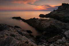 Tranquility (tom.leuzi) Tags: 10stops bigstopper canonef1635mmf4lisusm canoneos6d himmel lee leebigstopper langzeitbelichtung meer nd1000 nd30 ndfilter natur sonnenuntergang dusk landscape longexposure nature neutraldensity rock sea sky sunset tripod corsica corse korsika