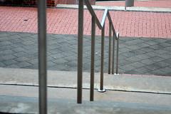 (Listeral Mac) Tags: delaware ud university universityofdelaware rail railing handrail steps stairs brick stone hall dorm