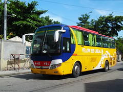 Yellow Bus Line A-62 (Monkey D. Luffy ギア2(セカンド)) Tags: mindanao philbes philippine philippines photography photo enthusiasts society road vehicles vehicle explore yutong bus