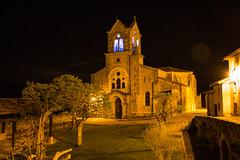 Parroquia de San Vicente Mártir (Manrrull) Tags: parroquia san vicente martir frias noche nocturno