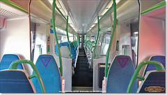 Car 424128 of set 387128, July 12th 2017 (Bristol RE) Tags: 424128 387128 387 class387 interior