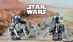 Jango Fett (Version 2) (McLovin1309) Tags: jango fett star wars epsiode 2 clone arealight sculpt custom lego minifigure mandolorian
