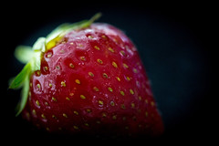 "HMM: Texture (Rainer D) Tags: 2017 macromonday texture ""members choice fruit strawberry berry health delicious sweetjuicy leaf grow nature food color bright isolated nutrition summer refreshment"