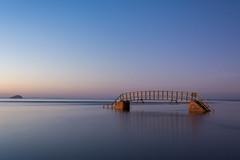 Bridge to Nowhere (Alec-Gibson) Tags: dunbar scotland bridgetonowhere sea water longexposure leefilter