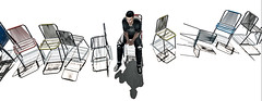 No fun playing the chair game alone! (jc.underwood) Tags: furillen person slpeople man chairs chairgame secondlife shadows 3dlife 3dpeople 3dworld selfie lonely tattoos