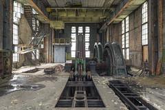 shaft K (Dawid Rajtak) Tags: shaft decay industry industrial coalmine coal decaing rottem machinery machine urban urbex exploring