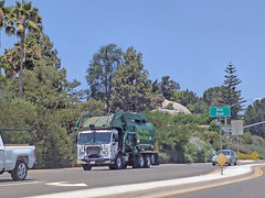 Garbage Truck 7-6-17 (Photo Nut 2011) Tags: california sanitation wastedisposal truck garbagetruck trashtruck junk refuse waste garbage trash ranchobernardo sandiego wastemanagement wm