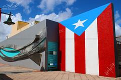 78 Pueblos y 1 Bandera (SJUAP) Tags: isladelencanto wall urbanart streetart borinquen monoestrellada flag bandera puertorico cataño 78pueblosy1bandera hectorpr