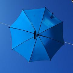 a study in blue (Pedro Manuel Martins Fernandes) Tags: umbrellas blue vianadocastelo portugal