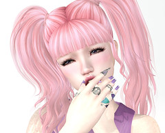 SORRY! (Ember Adored) Tags: minahair mudskin drastic meshbodyaddictsbimonthly eventsinsecondlife kustom9 infiniti catwahead catwaappliers pastel rings meshnails bento sl secondlife secondlifefashion secondlifefairs okinawasummerfestival2017