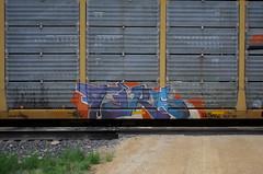 Tars (quiet-silence) Tags: graffiti graff freight fr8 train railroad railcar art tars aa aacrew autorack bnsf