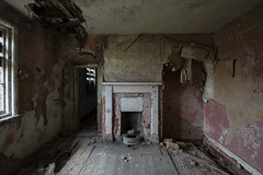 Crumbling beneath your feet (Matthew Hampshire) Tags: hearth house fireplace decay