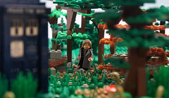 Thirteen (| MolochBaal ⟩) Tags: lego minifig doctor who dw jodie whittaker tardis forest