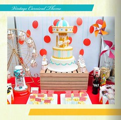 Vintage Carnival Theme (sweetsuccess888) Tags: sweetsuccess desserttable dessertbar dessertbuffet vintagecarnival carnival carouselcake eventsstyling carnivalparty desserts philippines
